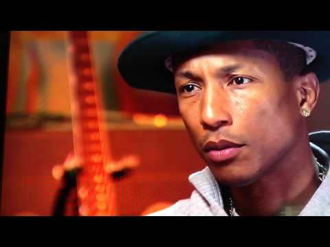 Pharrell Williams CBS Sunday Morning Interview for inservice