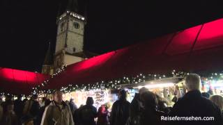 Tschechien: Adventszeit in Prag (Nacht) by Reisefernsehen.com - Reisevideo / travel video