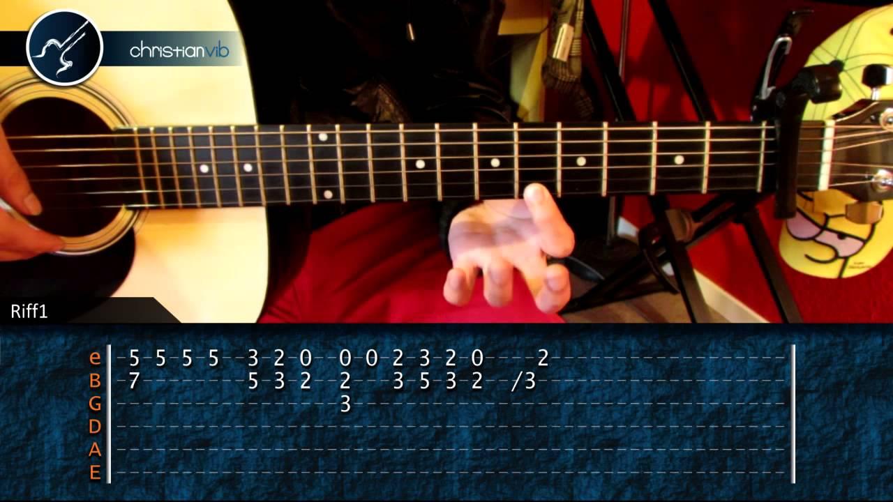 Cómo Tocar No Me Doy Por Vencido De Luis Fonsi En Guitarra Hd Tutorial Christianvib Youtube