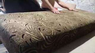 видео Ремонт диванов замена пружинного блока
