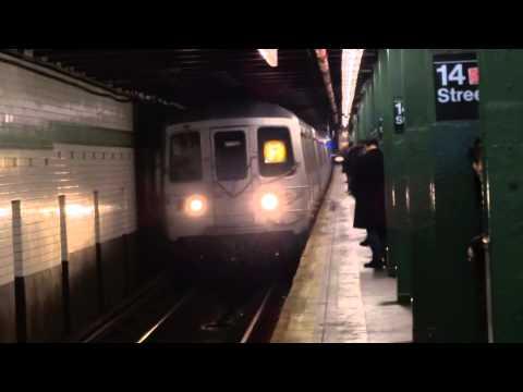 IND 6th Avenue Local: 168th Street & Queens bound R-32 & R-46 C & F trains @ 14th Street!