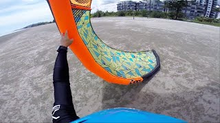 Kitesurfing Tutorial: Self launching and landing your kite safely