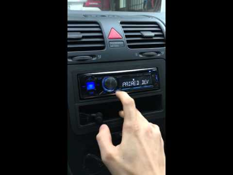 how to connect bluetooth to radio