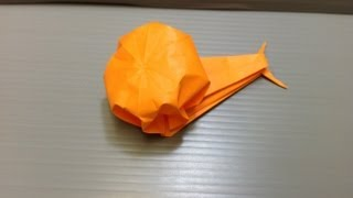 Daily Origami: 029 - Snail