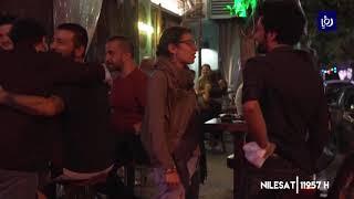 2/6/2020-عودة الحياة الليلية إلى العاصمة بيروت بعد تخفيف إجراءات العزل