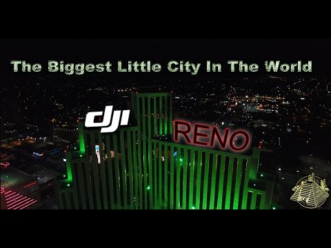 EPIC NIGHT DRONE FLIGHT | RENO, NV | 4K | DJI PHANTOM 4 | PYRAMID IMAGE