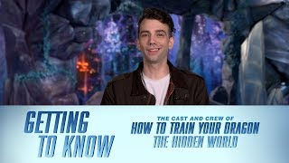 How To Train Your Dragon: The Hidden World's Cast & Crew | GETTING TO KNOW