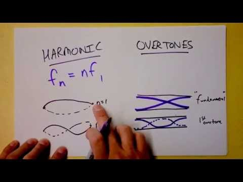 Standing Wave Harmonics or Overtones...what's the difference? | Doc Physics