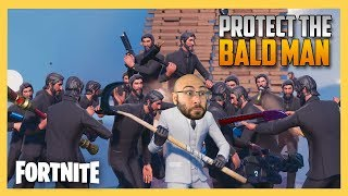 Protect The Bald Man! Fortnite Custom Matchmaking Minigame