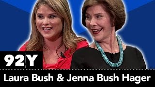 Laura Bush and Jenna Bush Hager in Conversation with Hoda Kotb