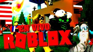 PLAYING ROBLOX LIVE(YOU CAN JOIN)