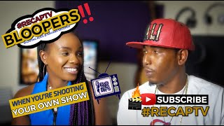 Bloopers (When You Shoot Your Own Show) - Beats & Bras #RECAPTV