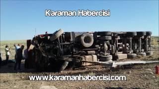 Karaman Haber : Karaman Ereğli Yolu Trafik Kazası