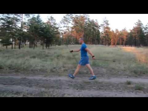 Финская ходьба с палками -