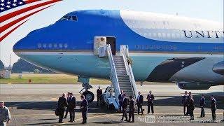 【トランプ大統領が離日】エアフォースワン搭乗から離陸までノーカット (2017/11/07)