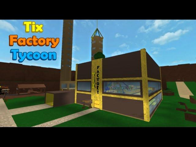 [????(Roblox)] ??? ??? ???? ???? ???? ????!!! ?? ?? ???(Tix Factory Tycoon) ?? ?? & ??? ??