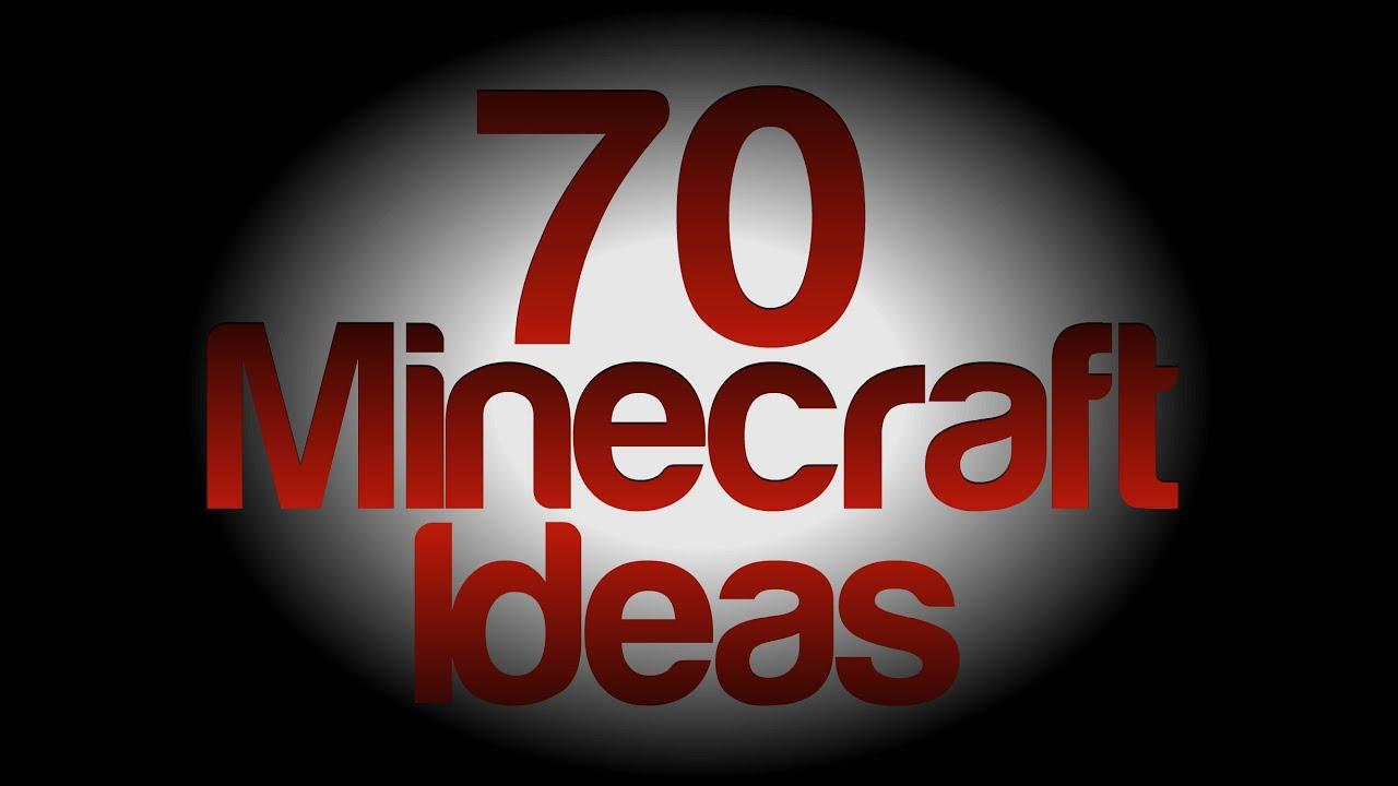 70 Minecraft Building Ideas - YouTube