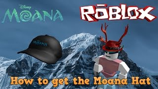 Roblox Moana Event | How to get the Moana Hat
