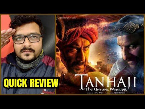 Tanhaji: The Unsung Warrior - Quick Review