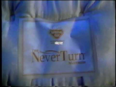 Superb Spring Air Never Turn Matress Commercial   The Bedroom Superstore   Sealy  (2001)