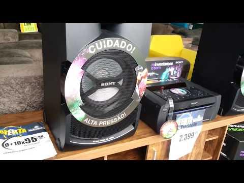 Sony Shake X3D Street Test