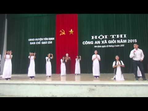 11A1 - Bài Ca  Người Giáo Viên Nhân Dân, Hát và múa