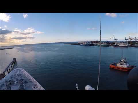 BOUDICCA's Whistle Port Louis Mauritius 1 Dec 2017