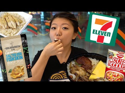 Trying Singapore 7-ELEVEN Foods