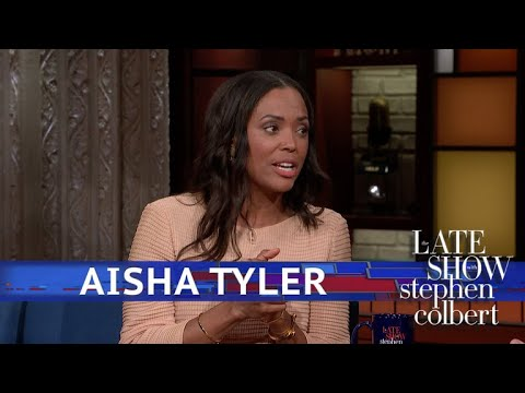 Aisha Tyler Won 'Best Effort' At The Science Fair