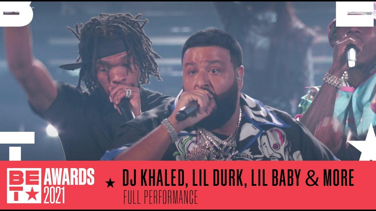 DJ Khaled, Meg Thee Stallion, Da Baby, Lil Baby & Lil Durk Perform Medley Of Hits | BET Awards