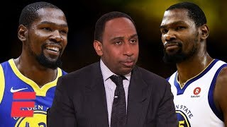 Stephen A's complicated relationship with Kevin Durant throughout the years | NBA on ESPN