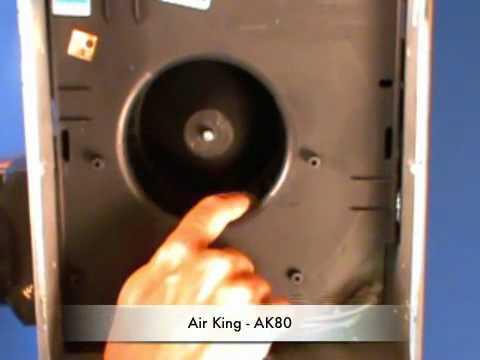 air king ak80 bathroom fan - youtube