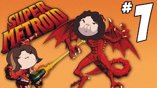 Super Metroid: Turn Into a Ball - PART 1 - Game Grumps