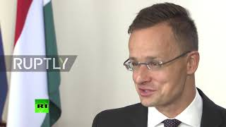 Russia: 'Let us see the things factually' – Szijjarto on sanctions