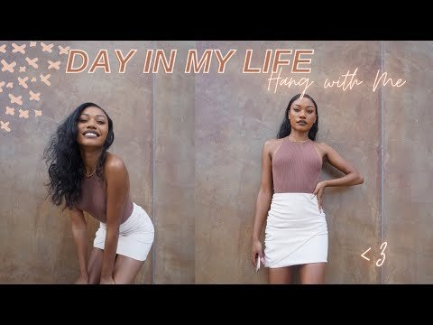 typical-day-in-the-life-vlog|coffee-fails,-skincare-unboxing,-benefit-brow-bar,-giveaway,-end-sars🇳🇬