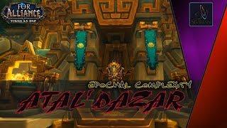 World of Warcraft BFA Hunter 320 PoW Атал'Дазар Эпохальный