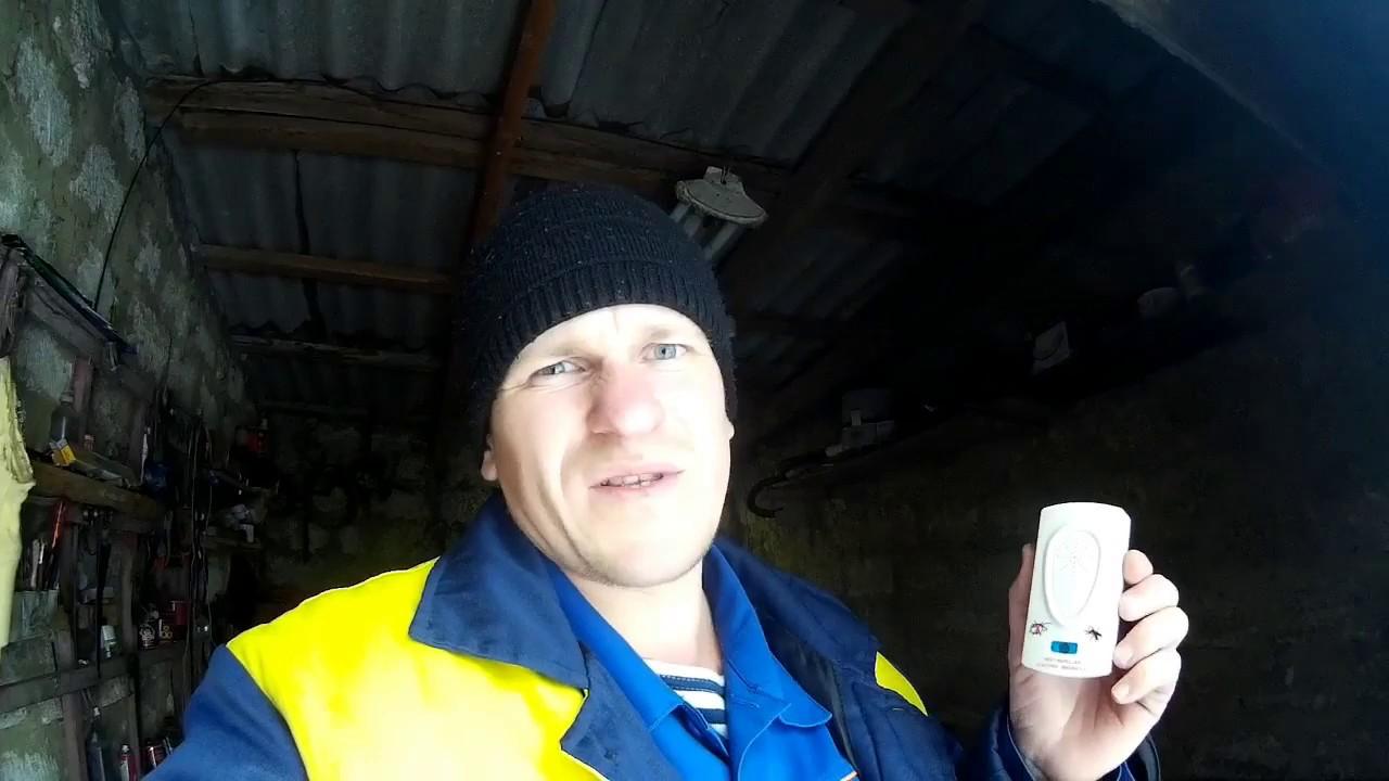 тест ультразвуковых отпугивателей грызунов