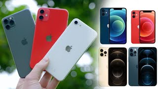 WELCHES iPhone kaufen? iPнone 12, 11, Xs, SE, 8 -- iPhone Kaufberatung 2021!