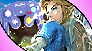 Zelda Breath Of The Wild Gamecube Controller Challenge - Playing Games With Wrong Controllers