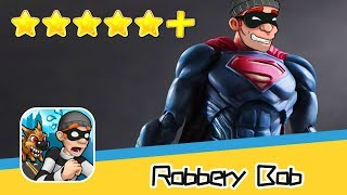Robbery Bob™ - Chapter3 SUPER BOB SUIT Part5 Walkthrough New Game Plus Recommend index five stars+