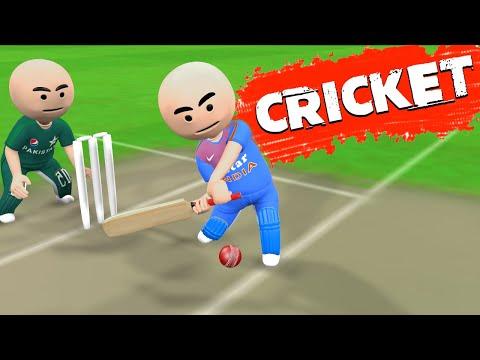 3D ANIM COMEDY - CRICKET || INDIA VS PAKISTAN || LAST OVER