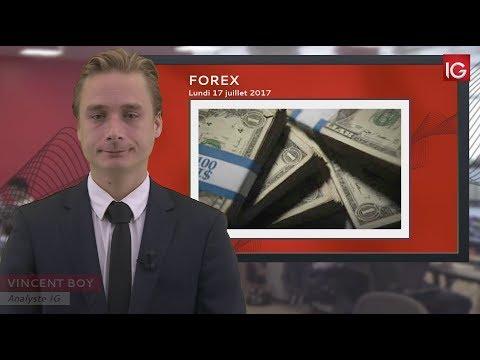 Bourse - EUR/USD, Toujours Orienté à La Hausse - IG 17.07.2017