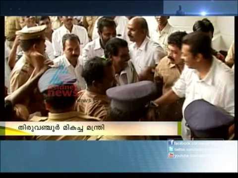 Asianet News Best Minister Thiruvanchoor Radhakrishnan