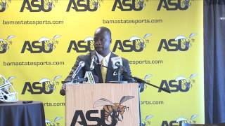 Football: Press Conference for New Head Coach Brian Jenkins