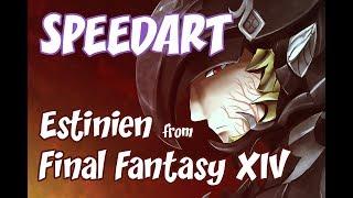 SpeedArt: Final Fantasy XIV: Estinien