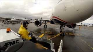 phoenix sky harbor ramp life with gopro on rainy day