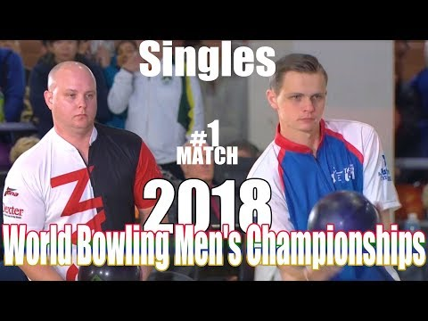 2018 Bowling - World Bowling Men's Championships - Singles #1 - Canada VS. USA
