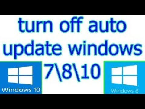 how to stop updates on windows 8.1