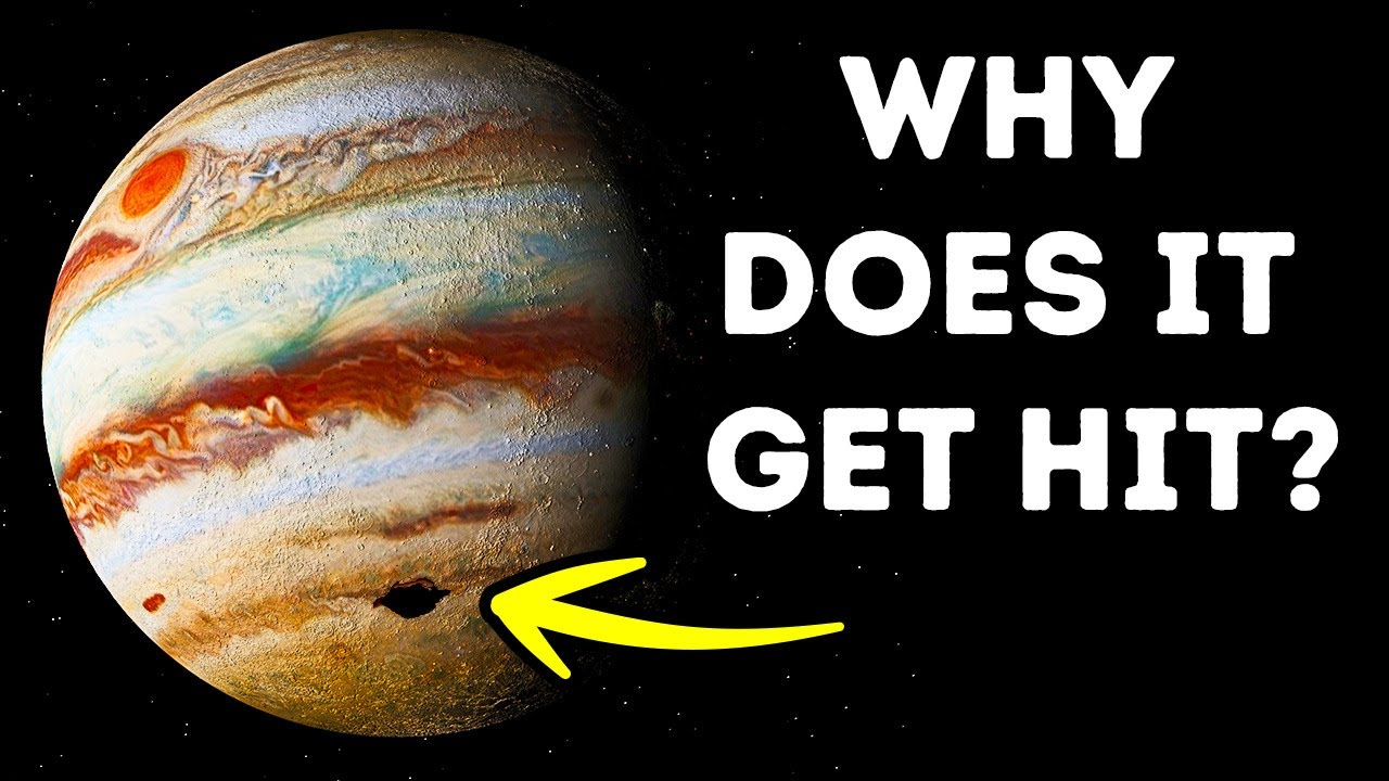 Jupiter Gets Hit By Objects More Than Other Planets