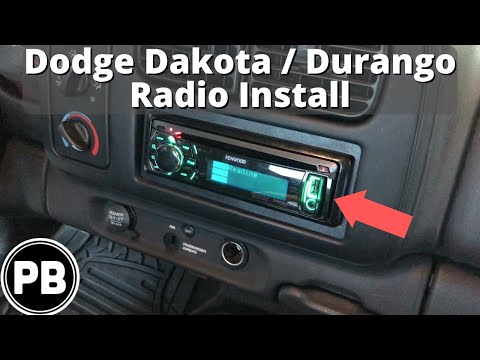 dodge dakota stereo wiring plug 1997 2000 dodge dakota durango stereo install w volume controls  1997 2000 dodge dakota durango stereo